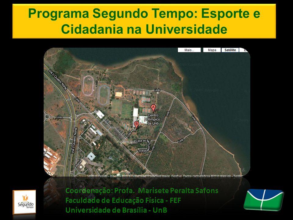 Programa Segundo Tempo: Esporte e Cidadania na Universidade