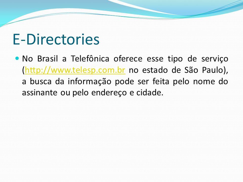 E-Directories