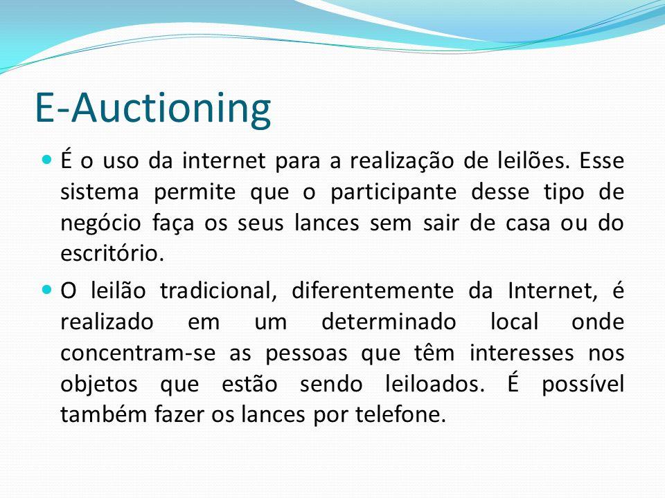 E-Auctioning