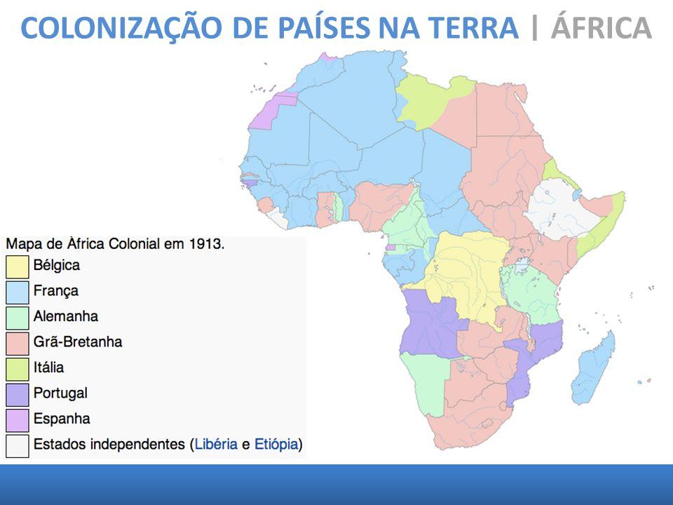 COLONIZAÇÃO DE PAÍSES NA TERRA | ÁFRICA