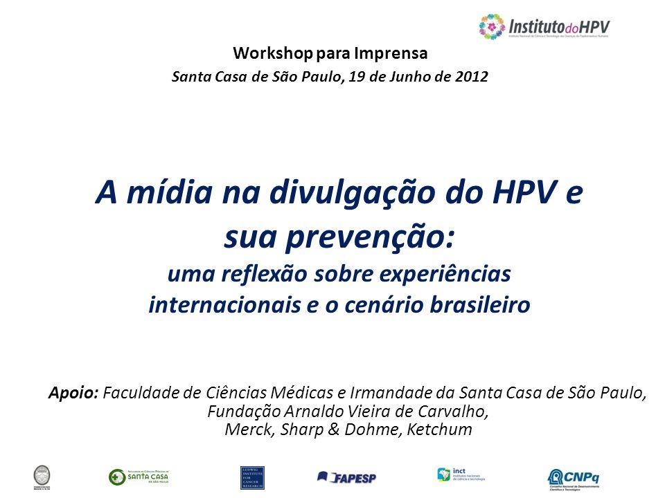 A mídia na divulgação do HPV e sua prevenção: