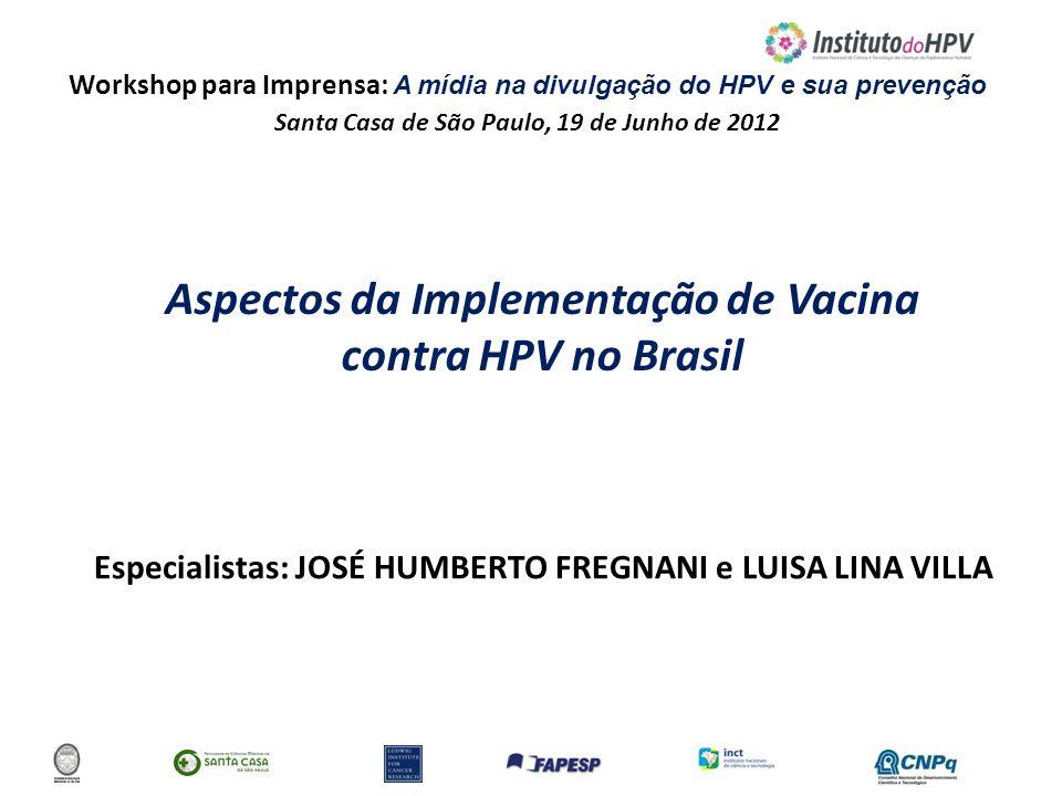 Aspectos da Implementação de Vacina contra HPV no Brasil