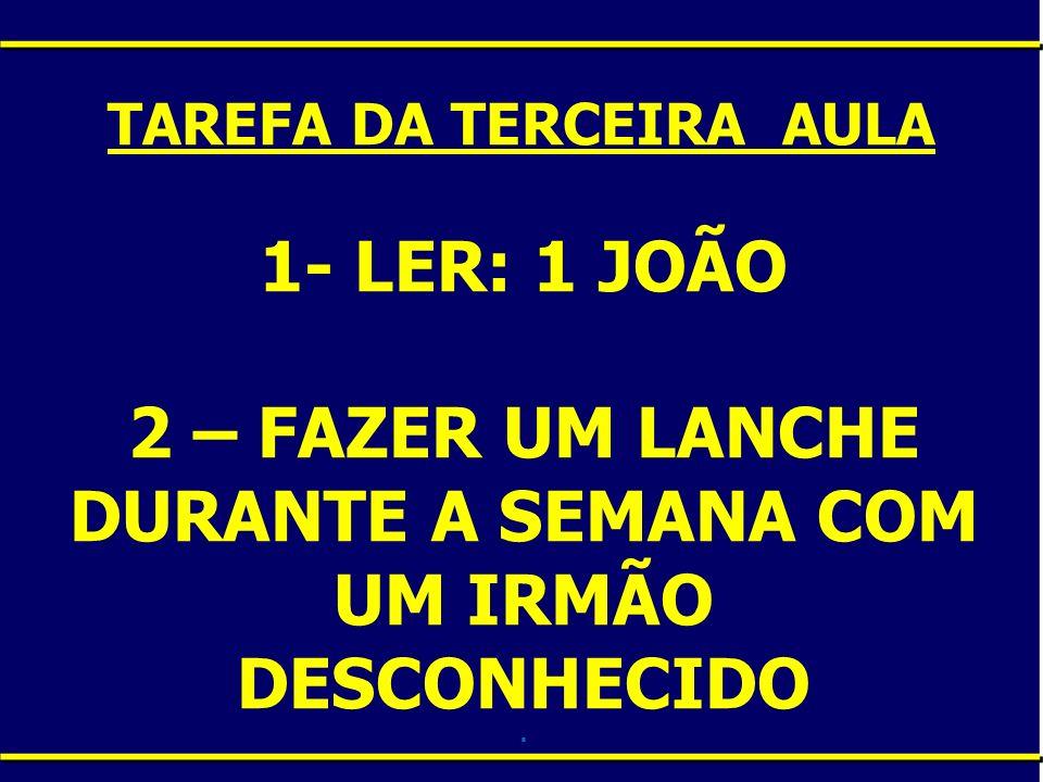 TAREFA DA TERCEIRA AULA