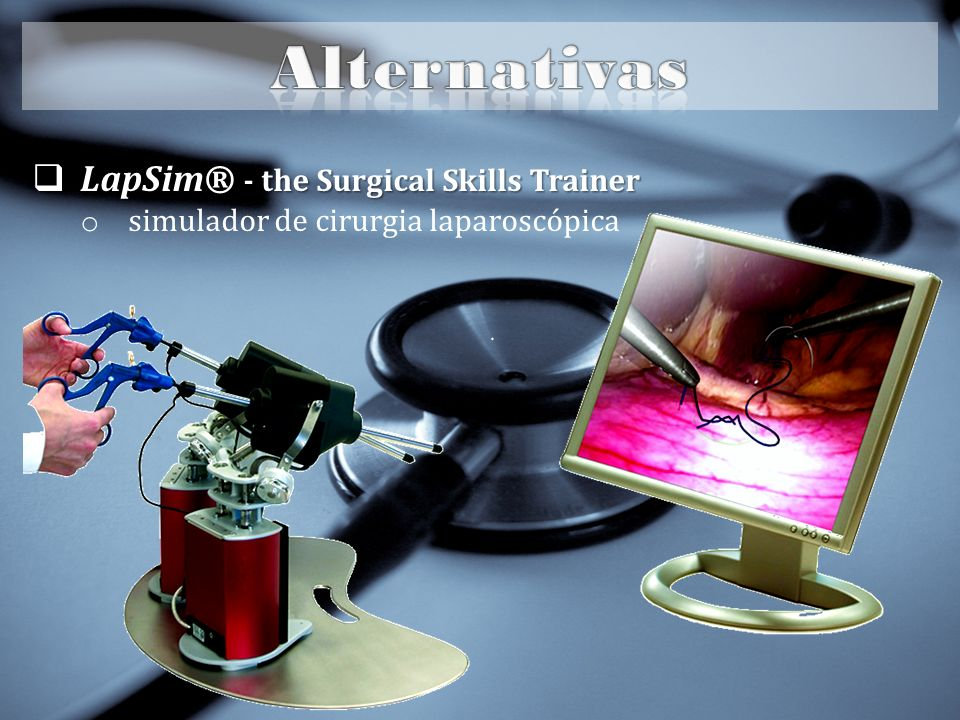 Alternativas LapSim® - the Surgical Skills Trainer