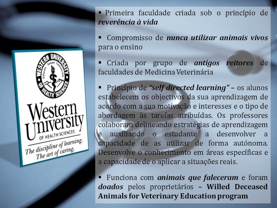 Primeira faculdade criada sob o princípio de reverência à vida