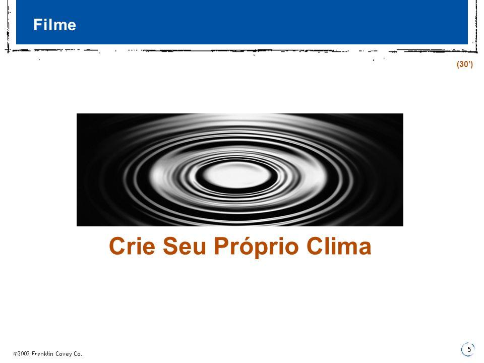 Filme (30') Crie Seu Próprio Clima 3 Fundamentos