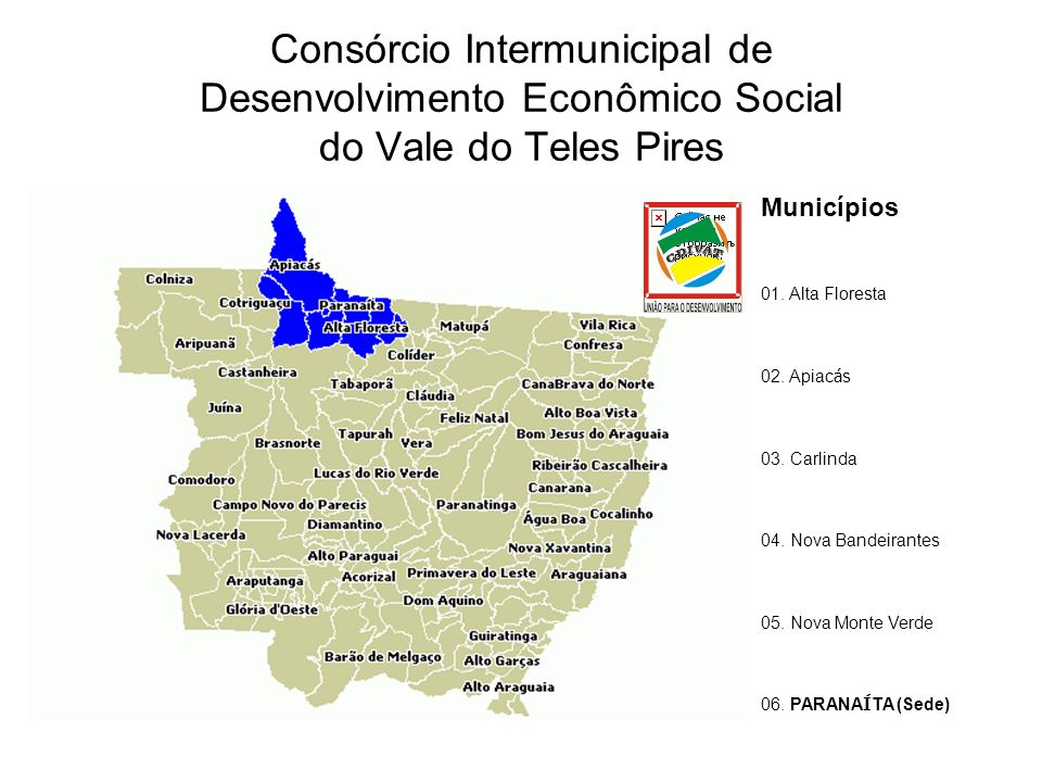 Consórcio Intermunicipal de Desenvolvimento Econômico Social do Vale do Teles Pires