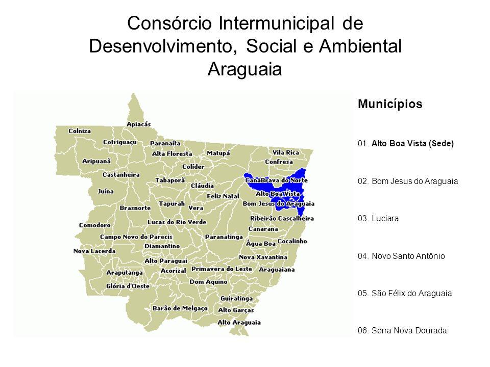 Consórcio Intermunicipal de Desenvolvimento, Social e Ambiental Araguaia