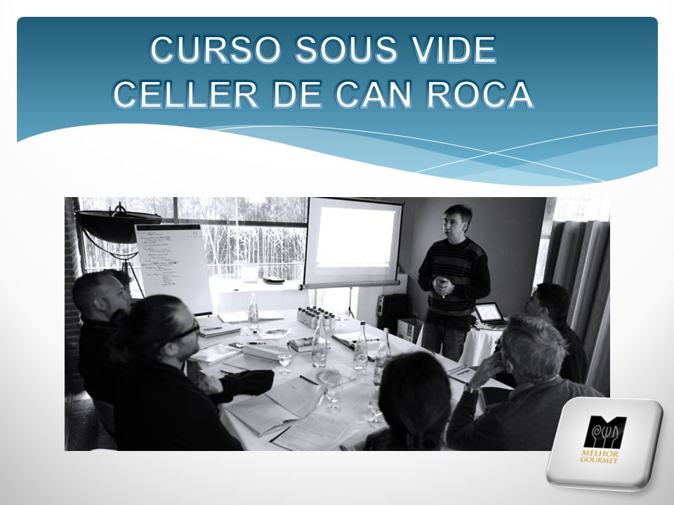 CURSO SOUS VIDE CELLER DE CAN ROCA