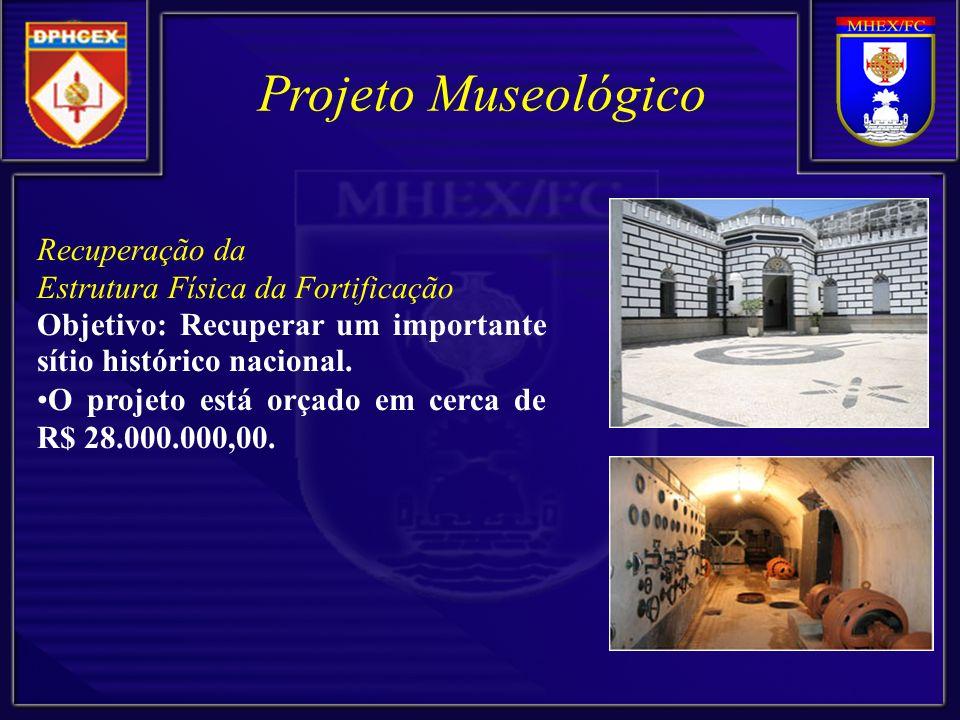 Projeto Museológico Recuperação da Estrutura Física da Fortificação