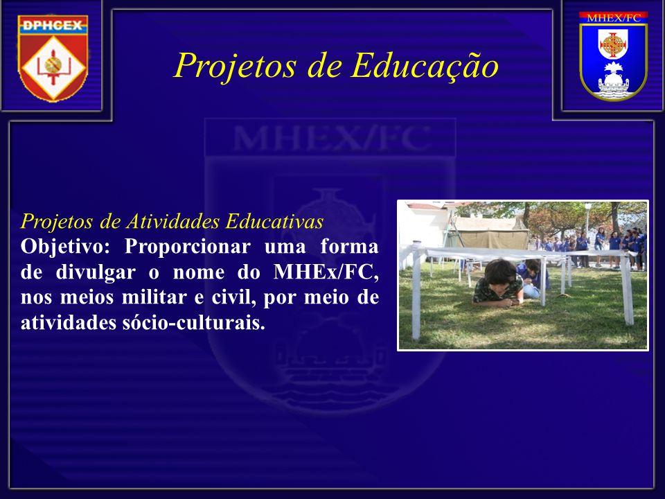Projetos de Educação Projetos de Atividades Educativas