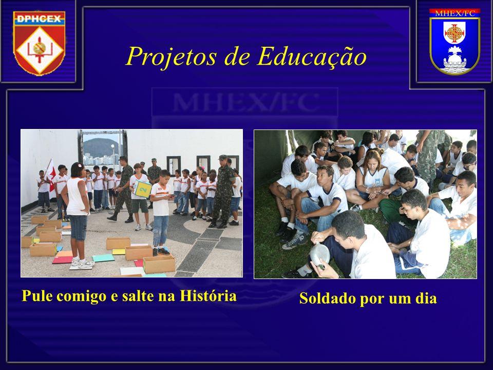 Projetos de Educação Pule comigo e salte na História