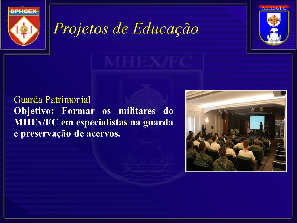 Projetos de Educação Guarda Patrimonial