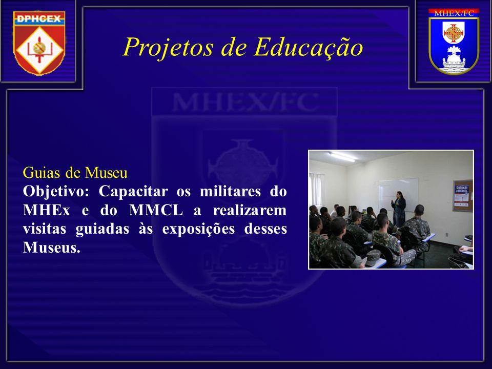 Projetos de Educação Guias de Museu