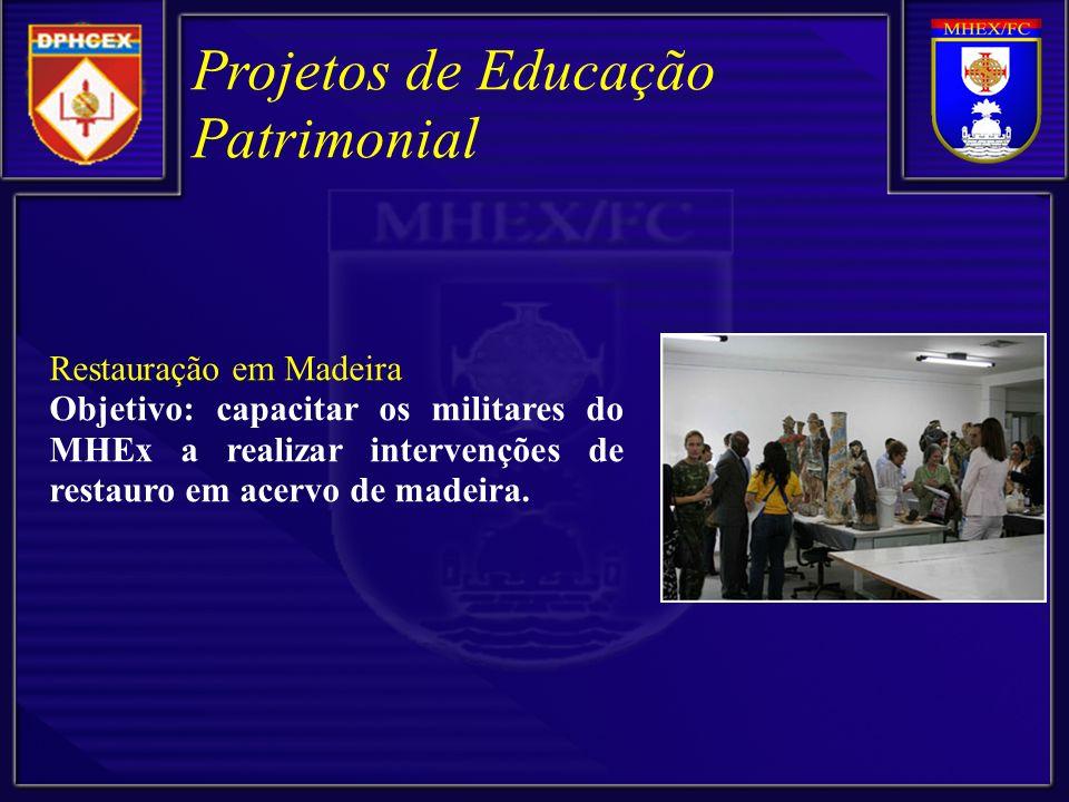 Projetos de Educação Patrimonial