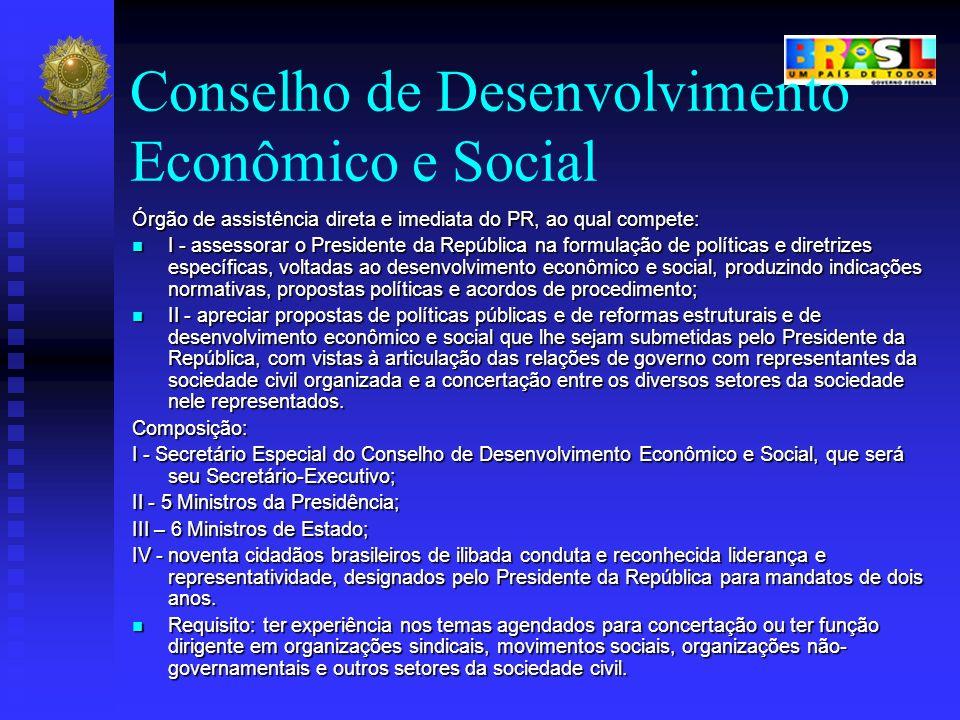 Conselho de Desenvolvimento Econômico e Social