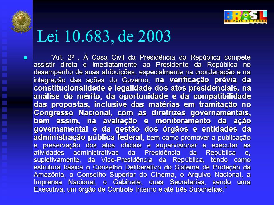 Lei 10.683, de 2003