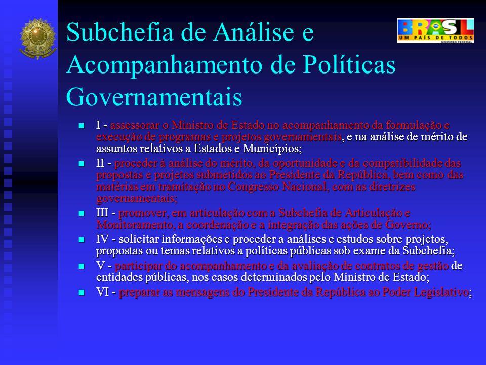 Subchefia de Análise e Acompanhamento de Políticas Governamentais