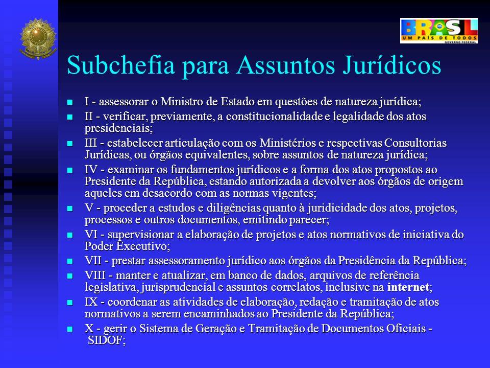 Subchefia para Assuntos Jurídicos