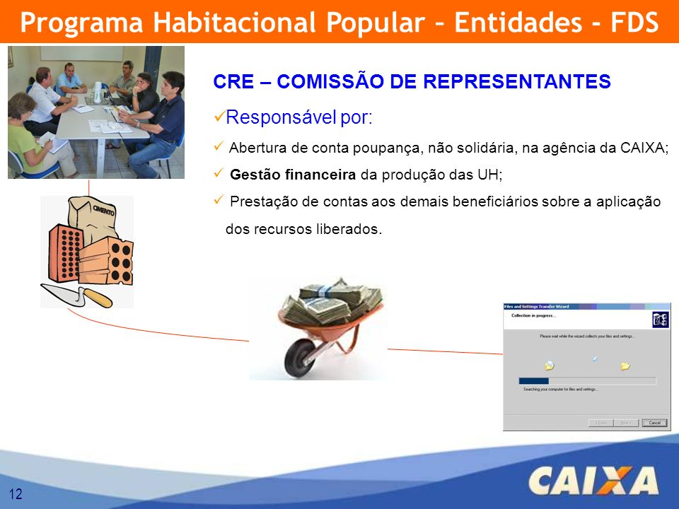 Programa Habitacional Popular – Entidades - FDS