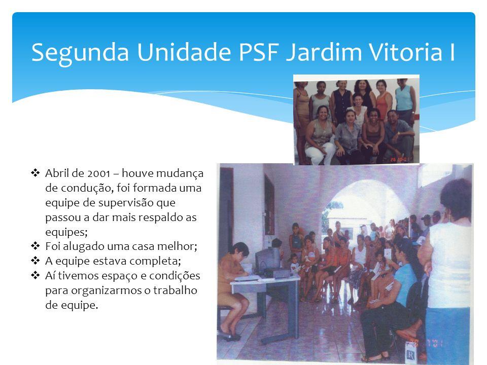 Segunda Unidade PSF Jardim Vitoria I