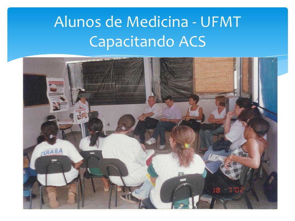 Alunos de Medicina - UFMT Capacitando ACS