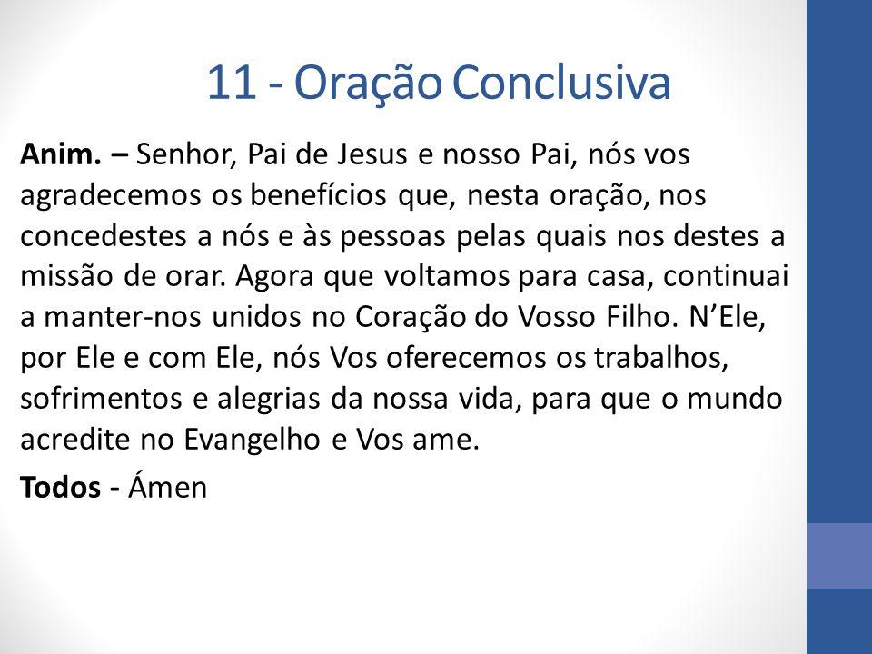11 - Oração Conclusiva