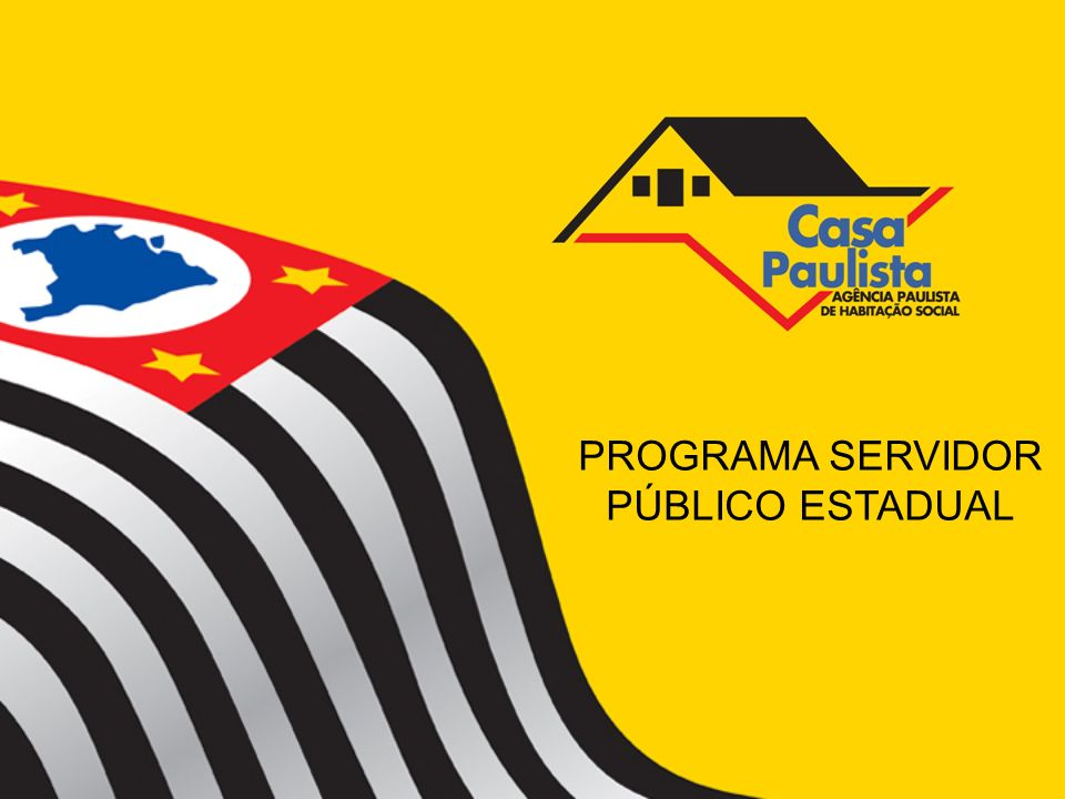 PROGRAMA SERVIDOR PÚBLICO ESTADUAL