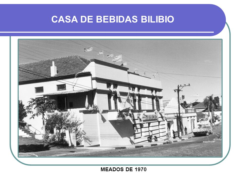 CASA DE BEBIDAS BILIBIO