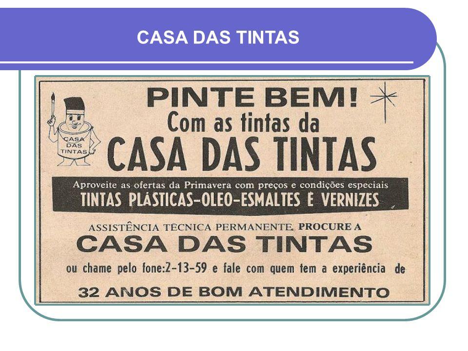 CASA DAS TINTAS