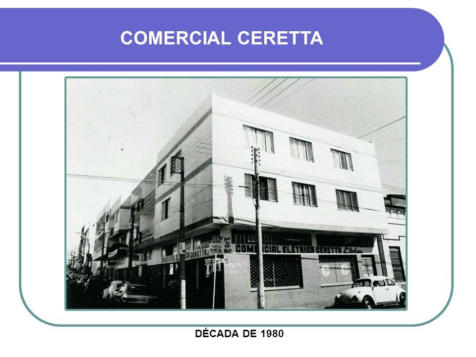COMERCIAL CERETTA DÉCADA DE 1980