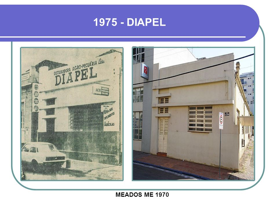 1975 - DIAPEL MEADOS ME 1970