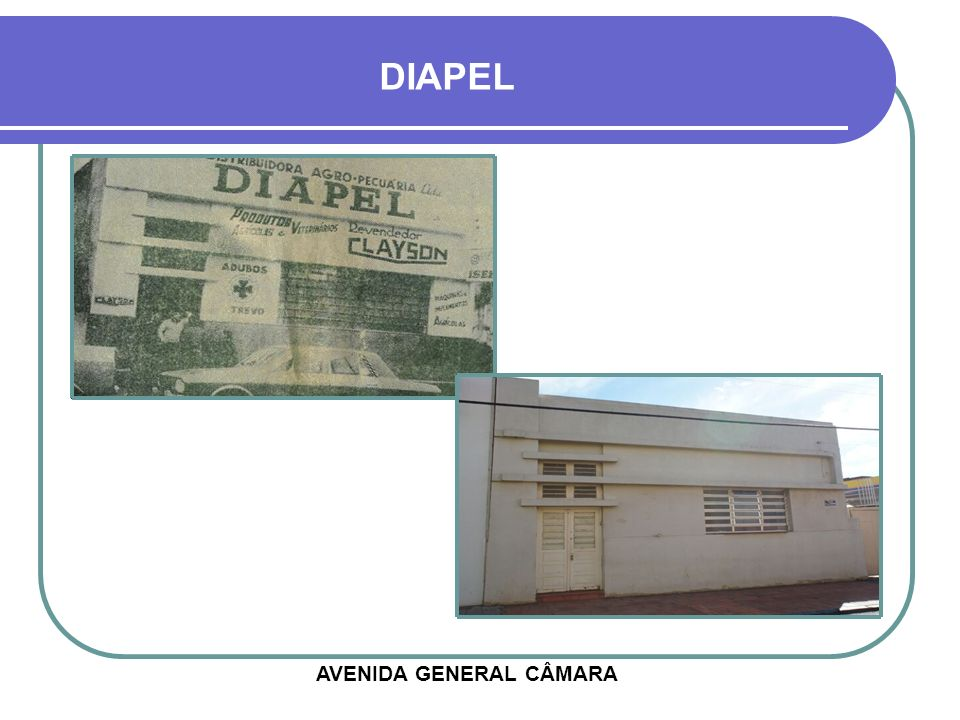 DIAPEL AVENIDA GENERAL CÂMARA