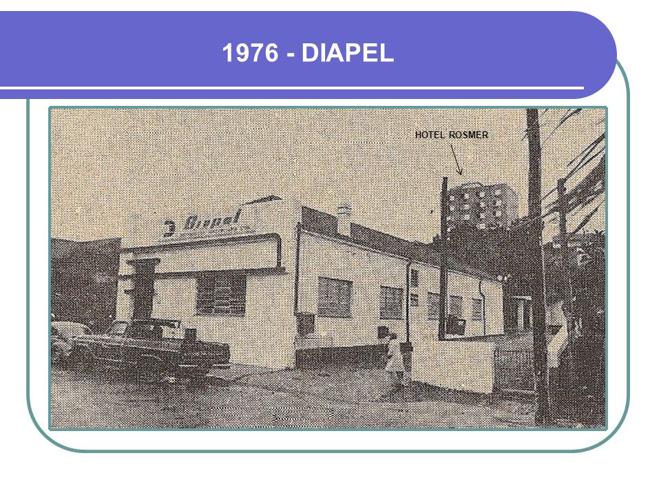 1976 - DIAPEL HOTEL ROSMER