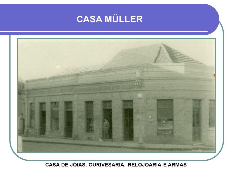 CASA DE JÓIAS, OURIVESARIA, RELOJOARIA E ARMAS