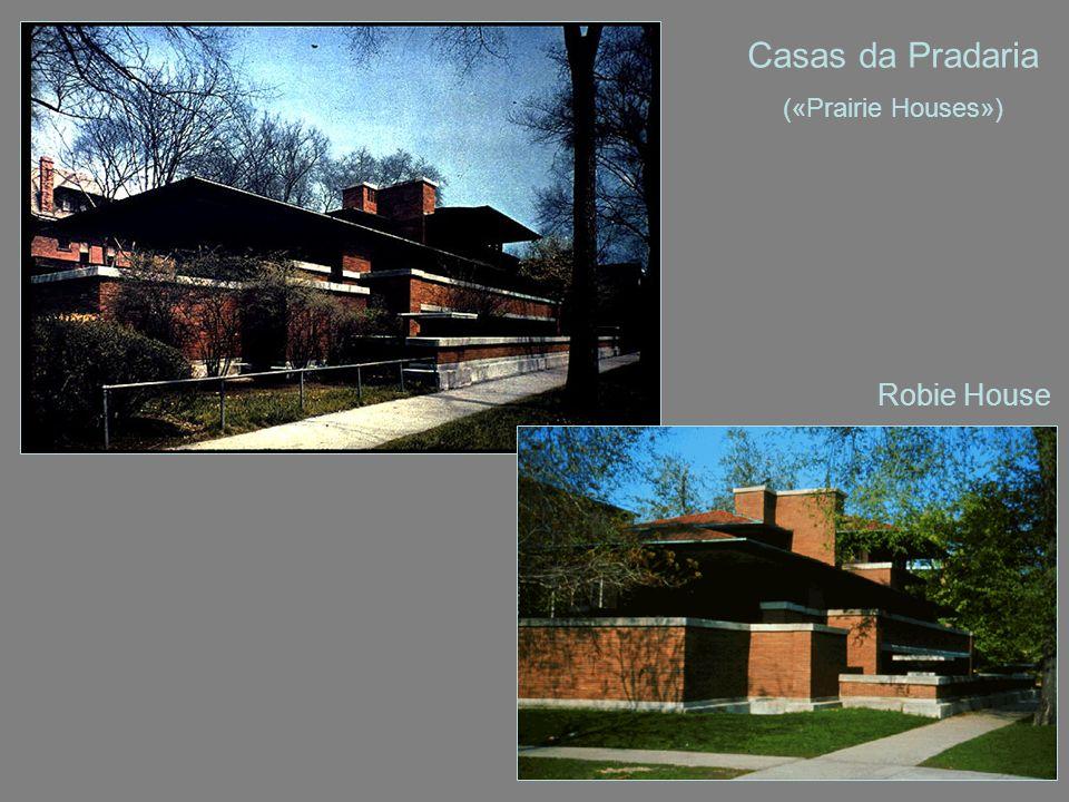 Casas da Pradaria («Prairie Houses») Robie House