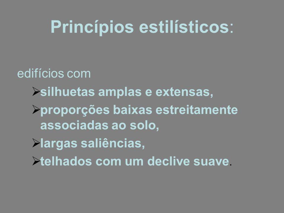 Princípios estilísticos: