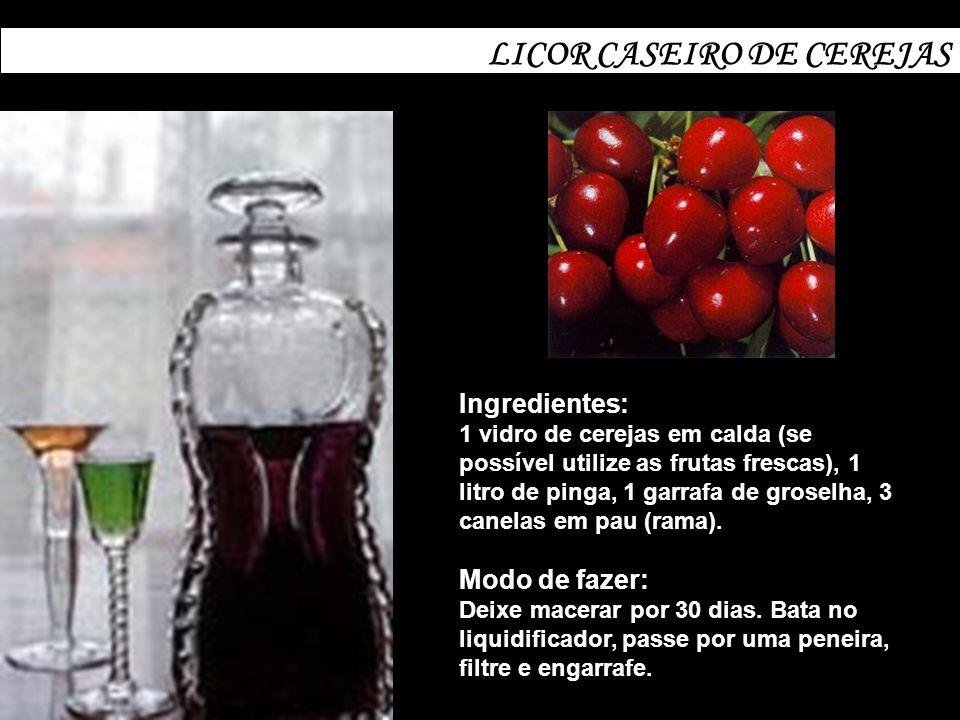 LICOR CASEIRO DE CEREJAS