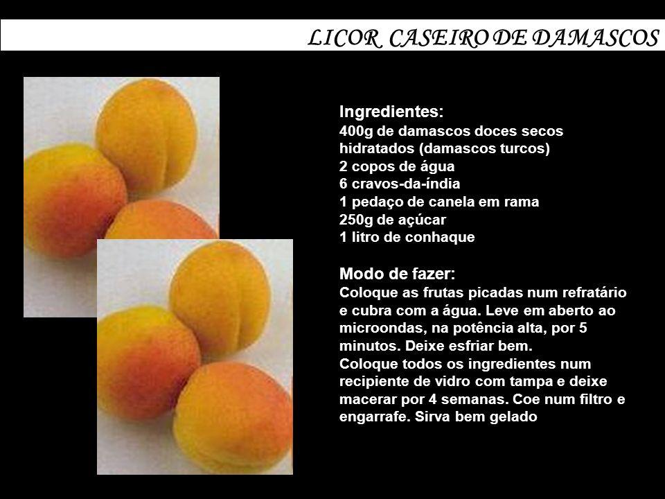 LICOR CASEIRO DE DAMASCOS