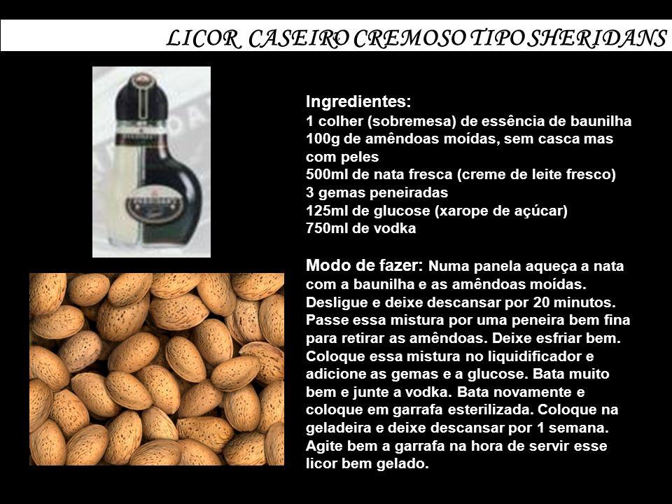 LICOR CASEIRO CREMOSO TIPO SHERIDANS