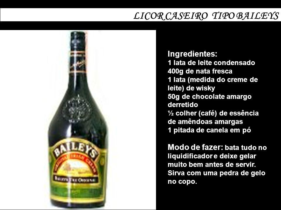 LICOR CASEIRO TIPO BAILEYS
