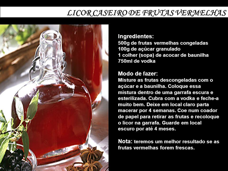 LICOR CASEIRO DE FRUTAS VERMELHAS