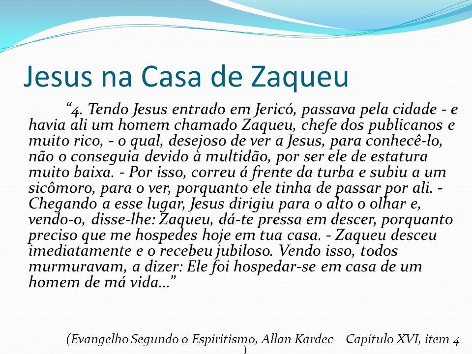 Jesus na Casa de Zaqueu