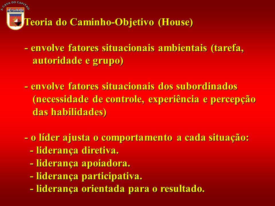 A CASA DO CAPITÃO Teoria do Caminho-Objetivo (House)
