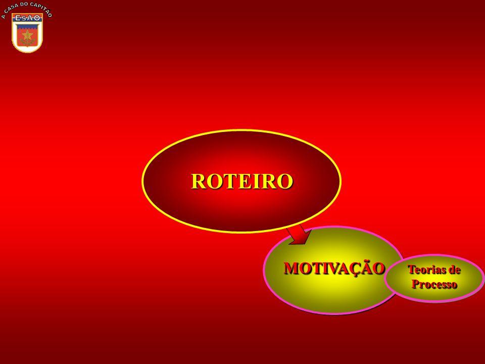 A CASA DO CAPITÃO ROTEIRO MOTIVAÇÃO Teorias de Processo