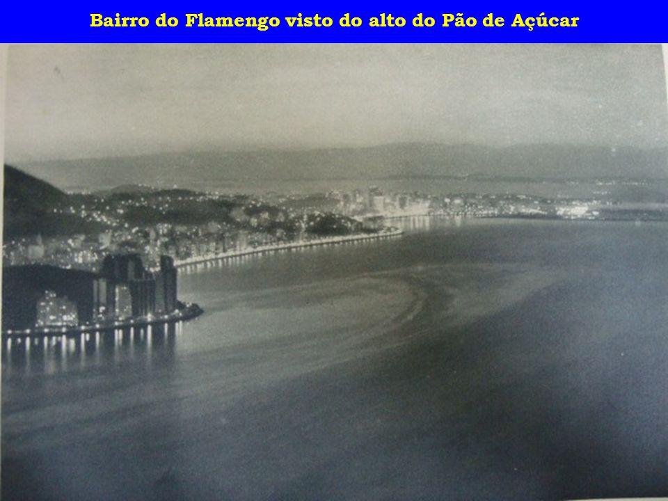 Bairro do Flamengo visto do alto do Pão de Açúcar