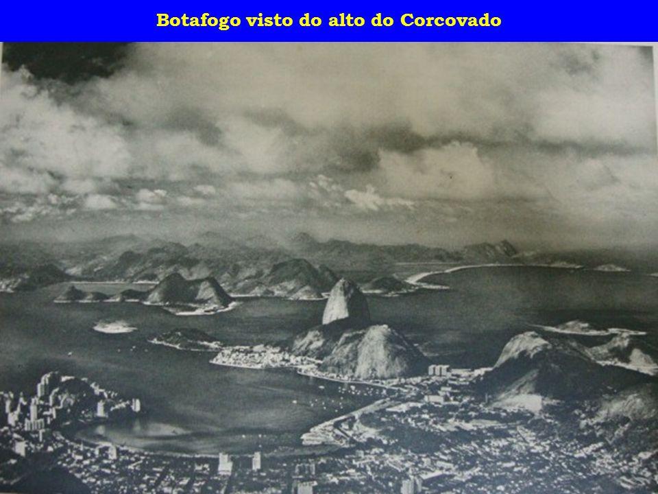 Botafogo visto do alto do Corcovado