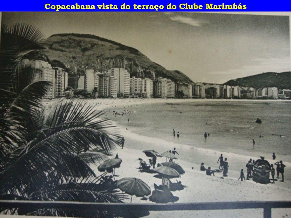 Copacabana vista do terraço do Clube Marimbás