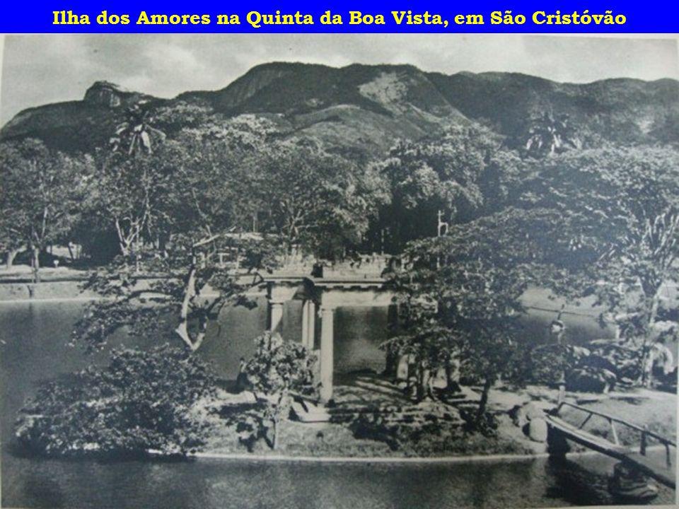 Ilha dos Amores na Quinta da Boa Vista, em São Cristóvão