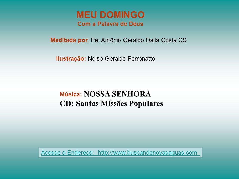 MEU DOMINGO CD: Santas Missões Populares Com a Palavra de Deus